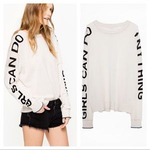 Zadig & Voltaire Girls Can Do Anything sweater